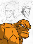 Marvel Character Sketches 1