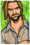 LOST Sawyer 4x6 Commission