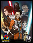 Star Wars Celebration IV Print