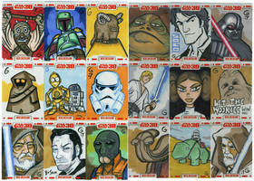 Star Wars 30th Cards GROUP 1 by grantgoboom