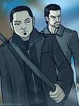 Future Hiro and Peter