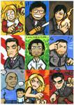 Cartoony HEROES