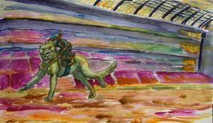 Neko Running for the Koun'na Cup