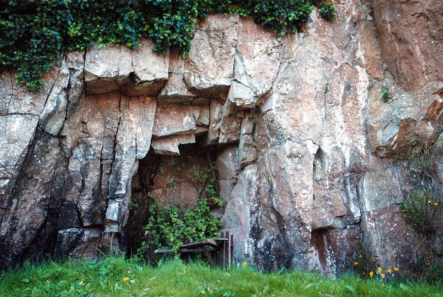 Caldey Island Cliff Face