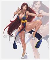 Chun Li By Artgear7 by artgear7