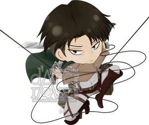 Commission - TheYoster - SnK-Levi by darc-rose