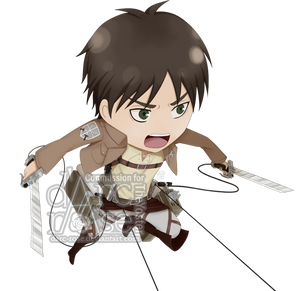 Commission - TheYoster - SnK-Eren by darc-rose