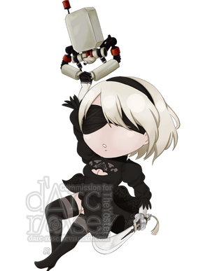 Commission - TheYoster - NieR-2B by darc-rose
