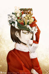 Hat #2 - Xmas ver. (2018) by darc-rose