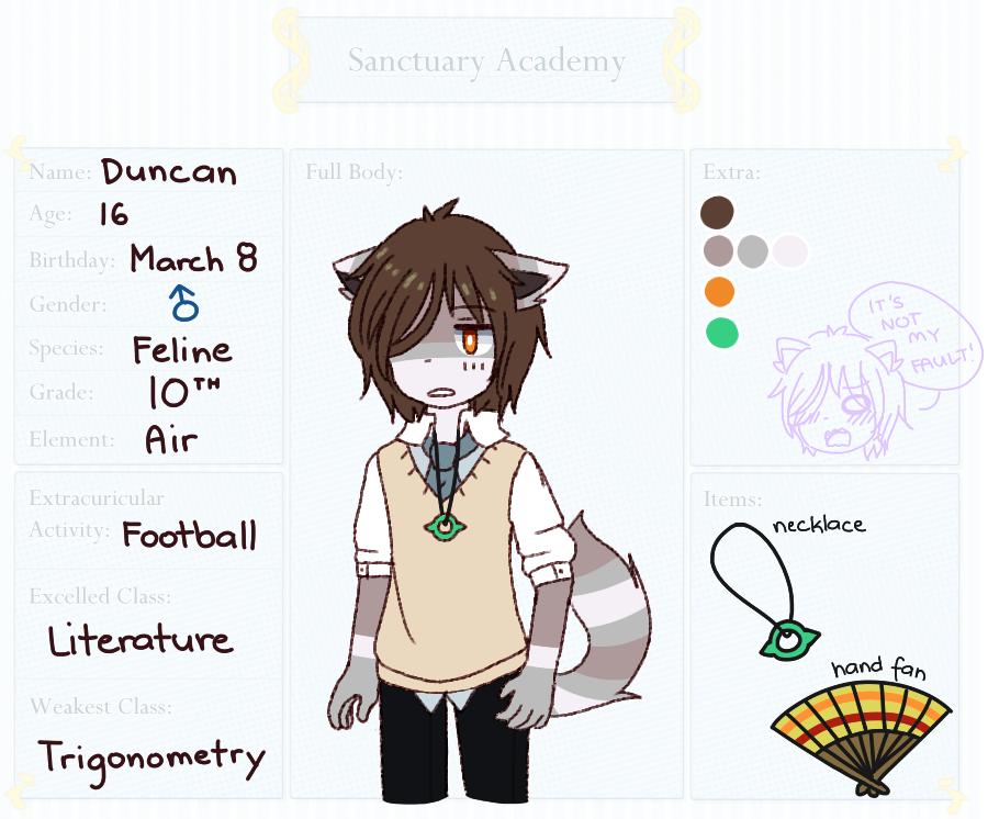 S-A: Duncan by Azurane