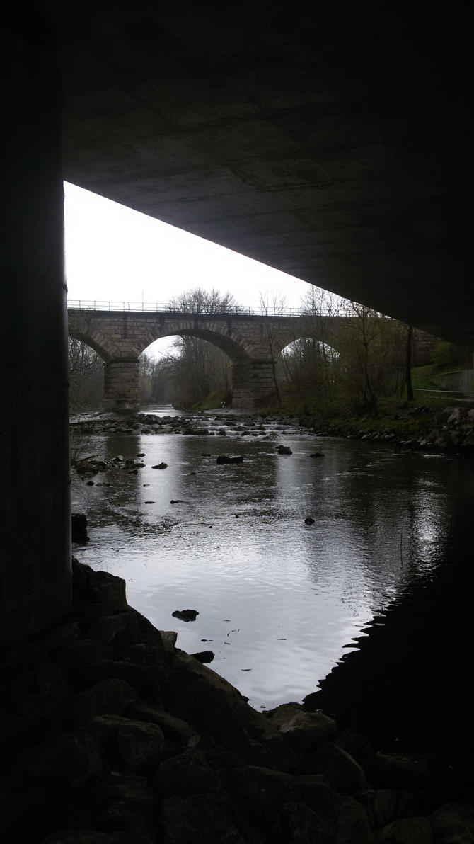 Under the bridge by Alindi