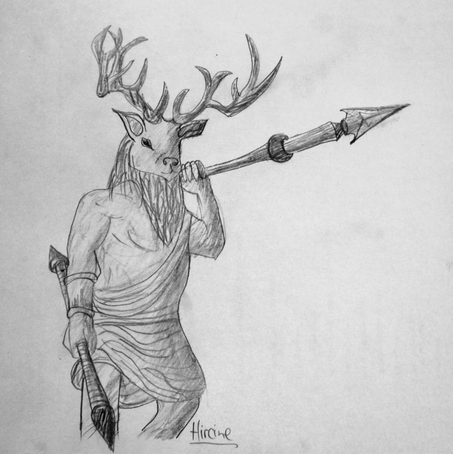 Hircine from Elder Scrolls Online by Alindi