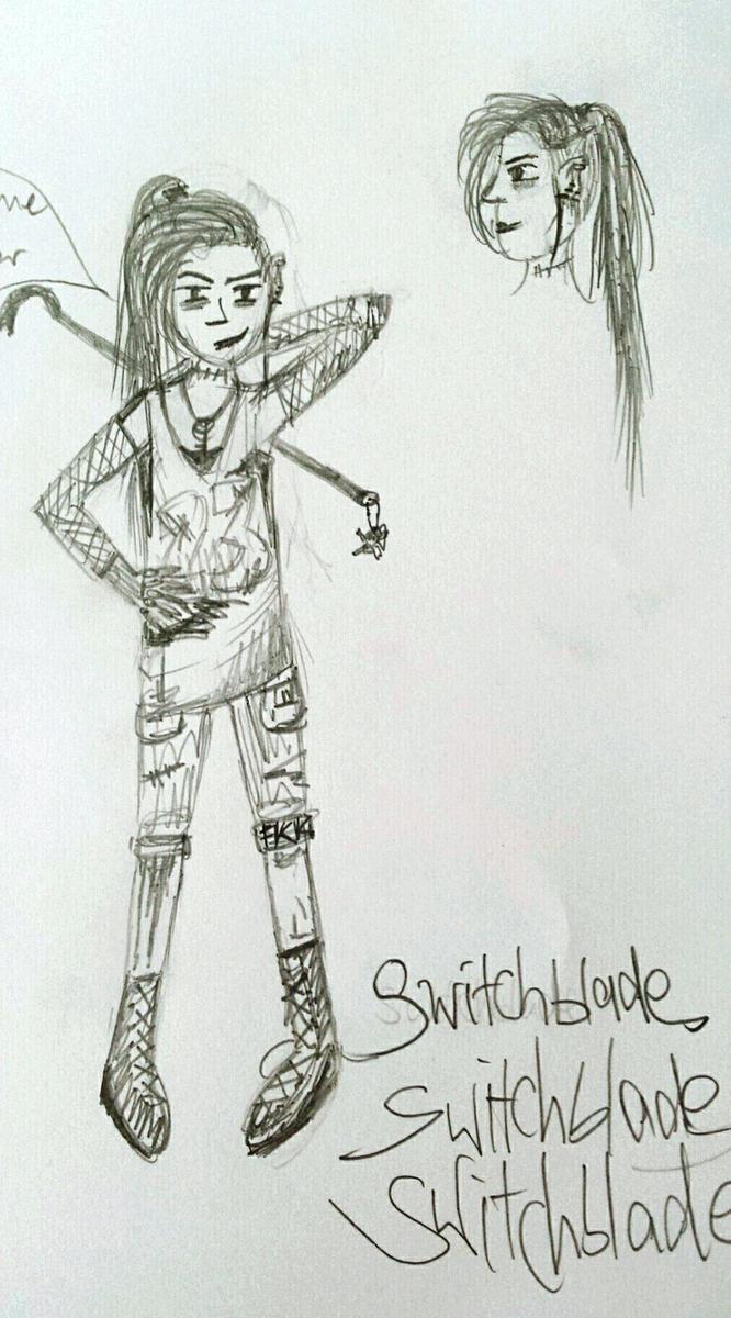 Switchblade [OC] by Alindi