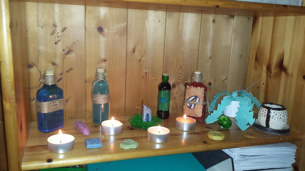 Elder Scrolls Online shrine by Alindi