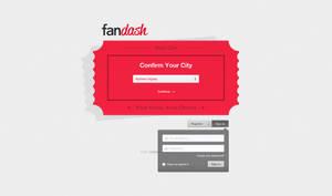 fandash landing page