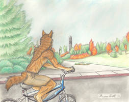 On an Afternoon Ride by Kigai-Holt