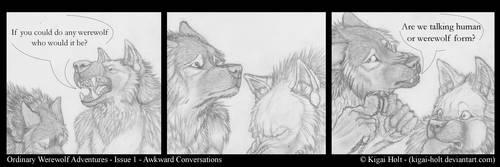 Ordinary Werewolf Adventures - Awkward Ends by Kigai-Holt