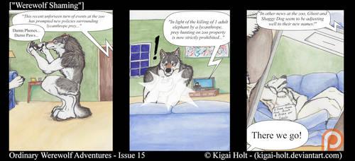 Ordinary Werewolf Adventures - Werewolf Shaming by Kigai-Holt