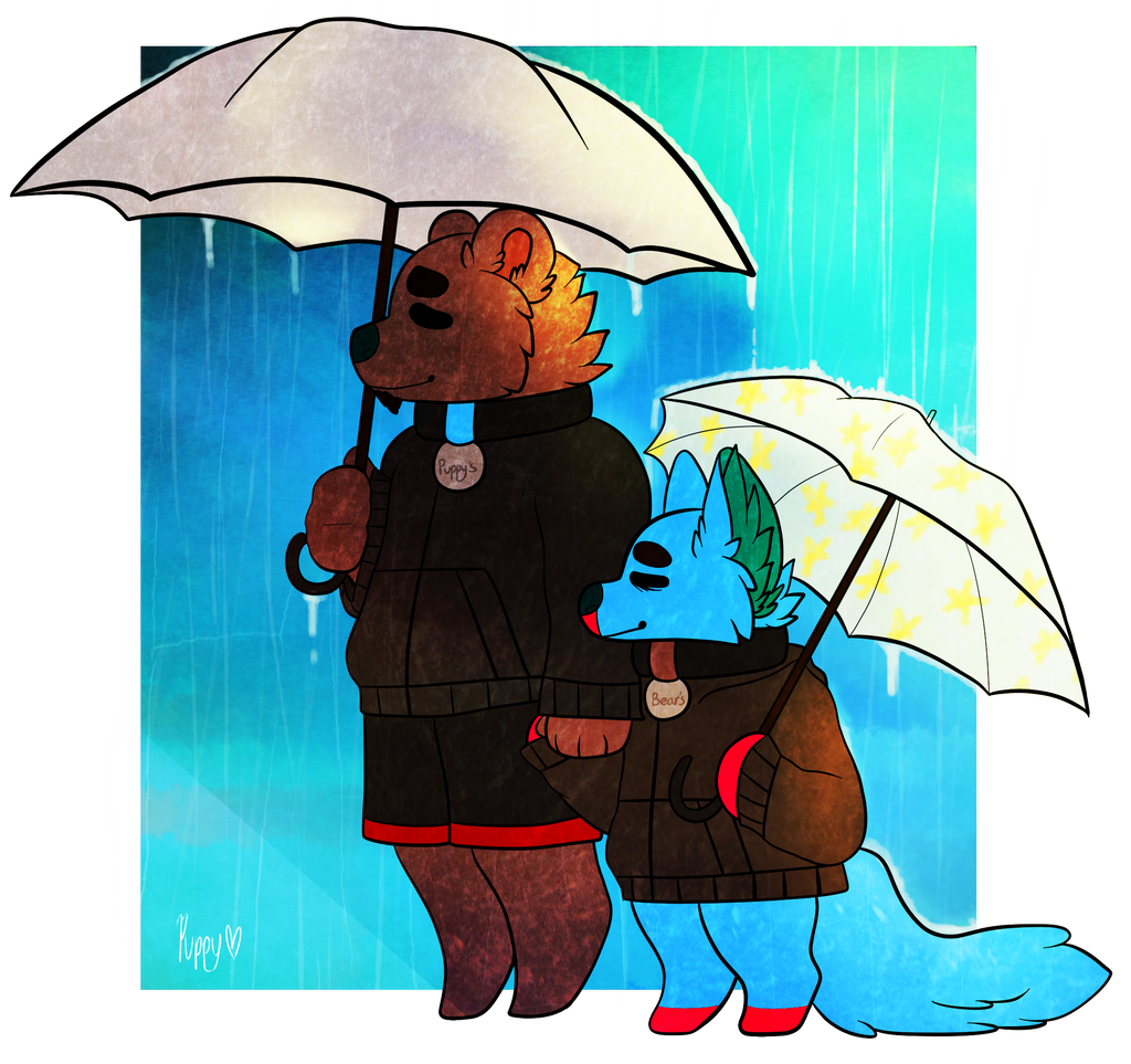 Rainy Days by Puppy-Burbur