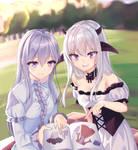 [CM] Eris and Saeko's Frills