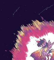 Alicorn Twilight by AppleCider1412