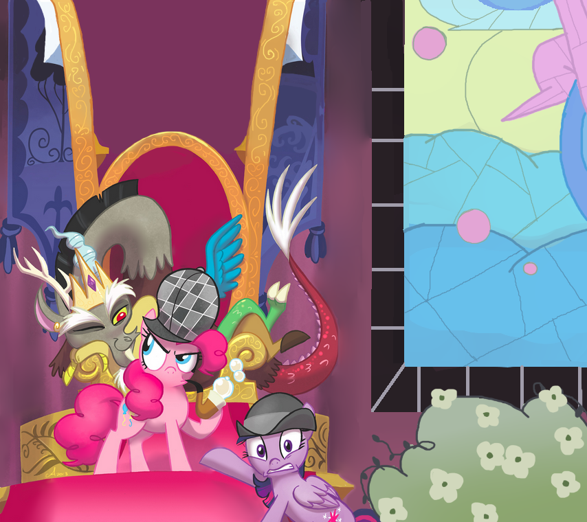 discord on the thrown by AppleCider1412