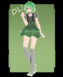 [MMD] TDA Gumi Megpoid DL by Sichi7Nana
