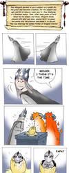 Comic: Glaurung's birth by Elenai
