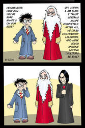 HP comic: Why trust Snape?
