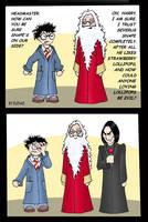 HP comic: Why trust Snape? by Elenai