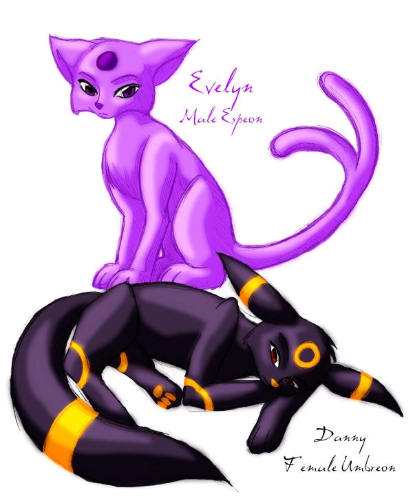 Pokemon Shiny Espeon Pokemon Umbreon And Espeon Love Story ...