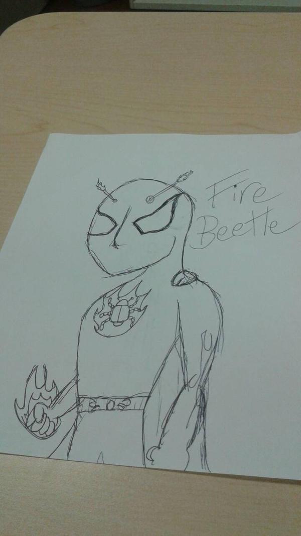 Fire Beetle by Brony4Eva928