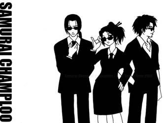 SC :Samurai in Black: by Samurai-Champloo-Clu