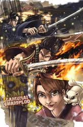 Samurai Champloo by ComfortLo