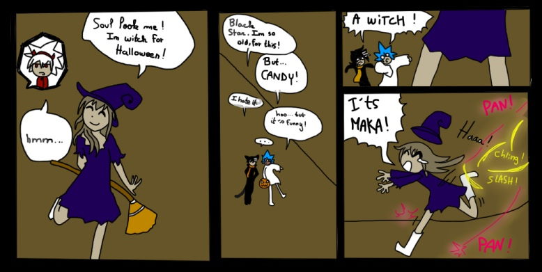 Soul eater comic halloween xd by starmagedon on deviantart - This is halloween soul eater ...