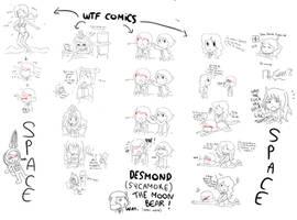 Desmond/Descole funny stuffs part 2 by Starmagedon
