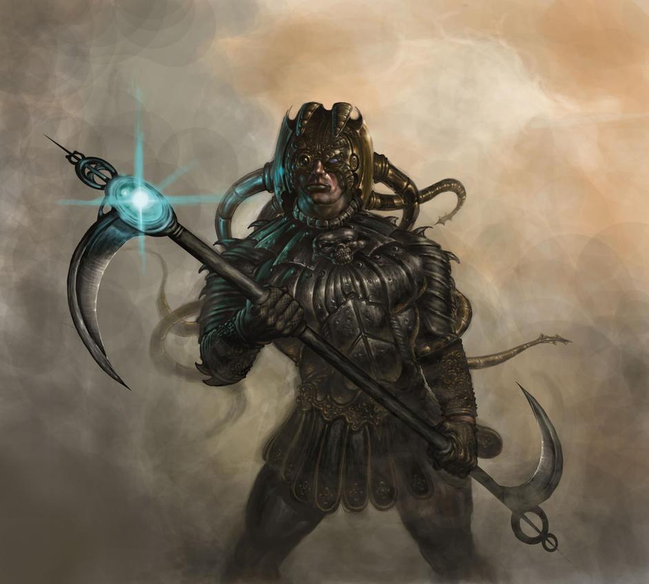Steampunk Warrior by Spazwerks on DeviantArt