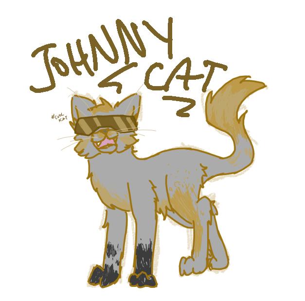 Johnny Cat by dangershy