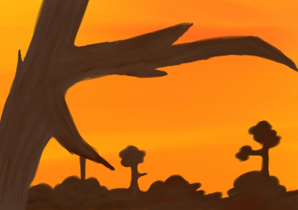 Sunset by dangershy
