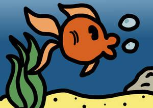 Goldfish Doodle