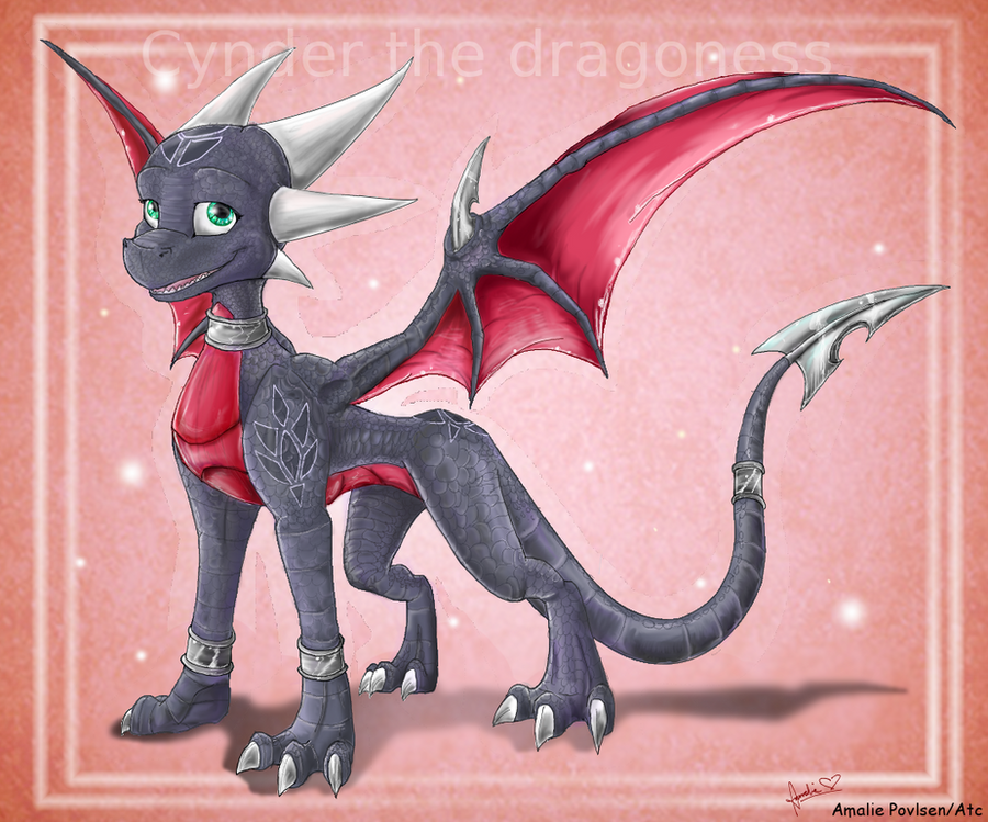 Cynder by Amirah-the-cat