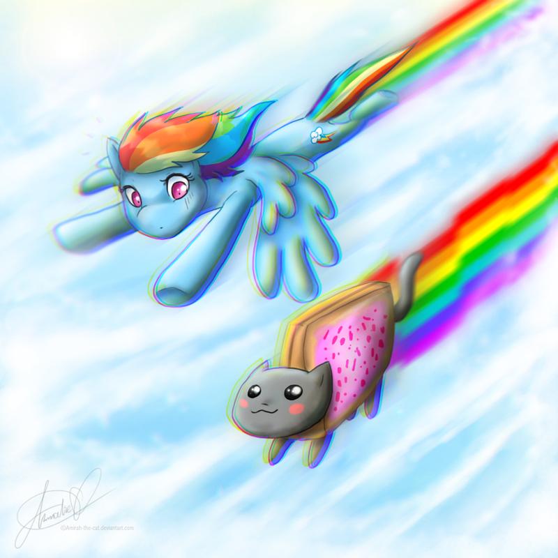 Rainbow powah by Amirah-the-cat