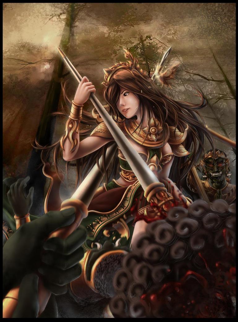Thai Ancient Warrior by subaru01rins