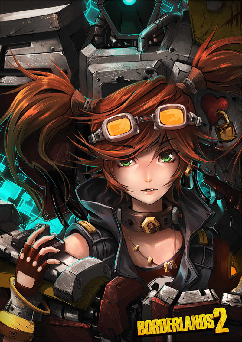 BorderLands 2 : Gaige The Mechromancer by subaru01rins
