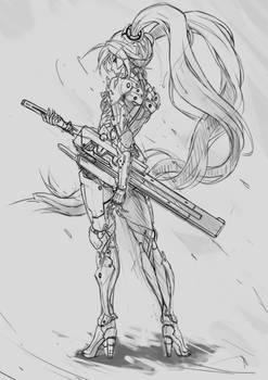 Miku_Cyborg(Raiden)_Sketch