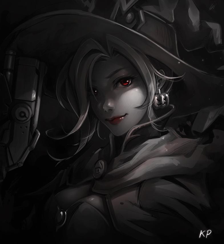 Blackjrxiii overwatch halloween mercy x widowmaker x symmetra x dva