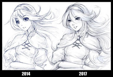 draw this again ! by subaru01rins