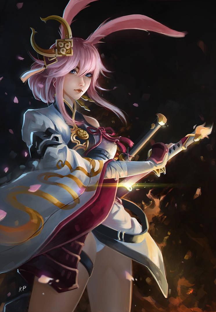 Flame Sakitama (Yae Sakura) by subaru01rins