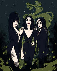 The Unholy Trinity of Darkness