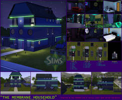 The Sims 3 - Membrane Household